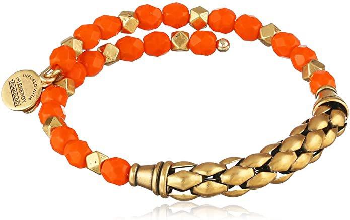 """Alex and Ani """"Coastal Odyssey"""" Rafaelian Gold and Sea Star Calypso Wrap Bracelet: Jewelry"""