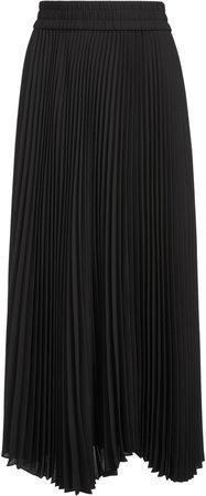 Iva Pleated Midi Skirt