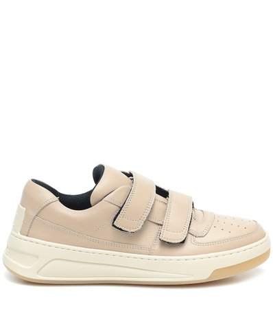 Acne Studios - Exclusive to Mytheresa – Steffey leather sneakers | Mytheresa