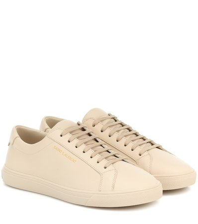 Andy Leather Sneakers - Saint Laurent | Mytheresa