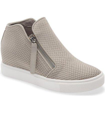 Steve Madden Click Hidden Wedge High Top Sneaker (Women) | Nordstrom