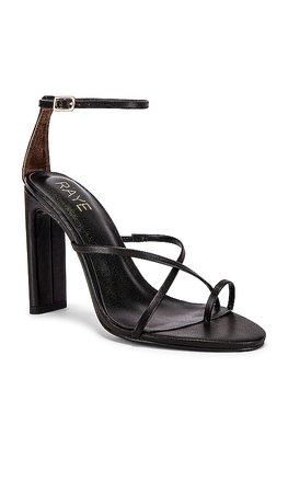 RAYE Lark Heel in Black | REVOLVE