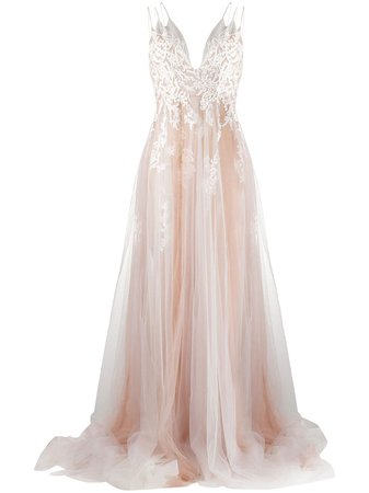 Loulou Embroidered Tulle Gown - Farfetch