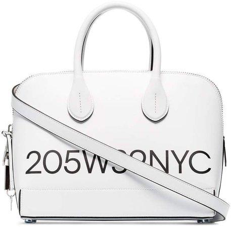 Dalton small logo print tote bag
