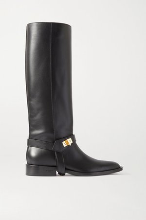 Eden Leather Boots - Black