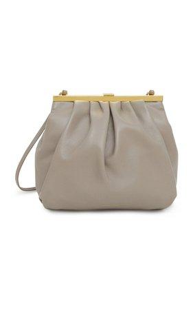Frame Leather Shoulder Bag By Mansur Gavriel   Moda Operandi