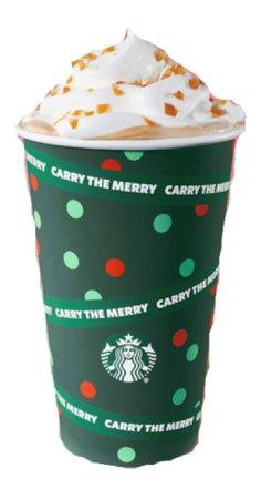 Starbucks caramel brulée latte