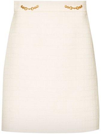 Gucci Horsebit-detail Mini Skirt - Farfetch