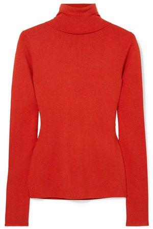 Joseph | Silk-blend turtleneck sweater | NET-A-PORTER.COM