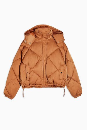 PETITE Quilted Puffer Jacket | Topshop