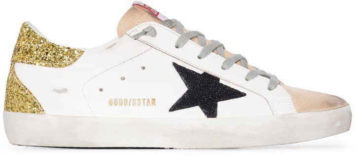 Superstar suede leather sneakers