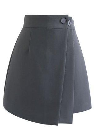 Pleated Sheen Color Block Midi Skirt in Caramel - Retro, Indie and Unique Fashion