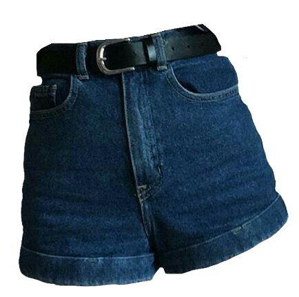 Blue Denim Shorts (png)