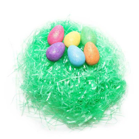 Easter Grass with 6 Mini Eggs - Hollar | So. Much. Good. Stuff