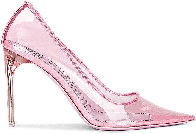 Couture Stiletto Pumps in Light Pink | FWRD