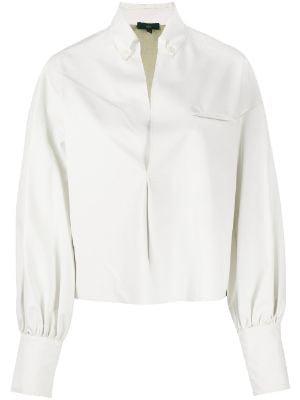 White long sleeve blouse