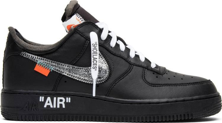 OFF-WHITE x MoMA x Air Force 1 07 'Black' - Nike - AV5210 001 | GOAT