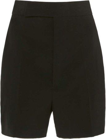 Haider Ackermann High-Rise Wool Shorts Size: 36