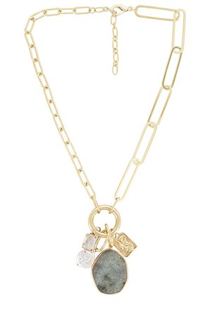Amber Sceats Pendant Necklace in Gold | REVOLVE