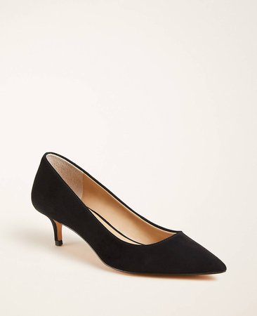 Reese Suede Pumps | Ann Taylor