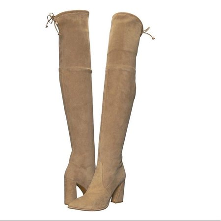 Stuart Weitzman Funland OTK Boots -like the Hiline
