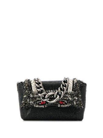 Ermanno Scervino Embellished Mini Bag D353S570CGX Black | Farfetch