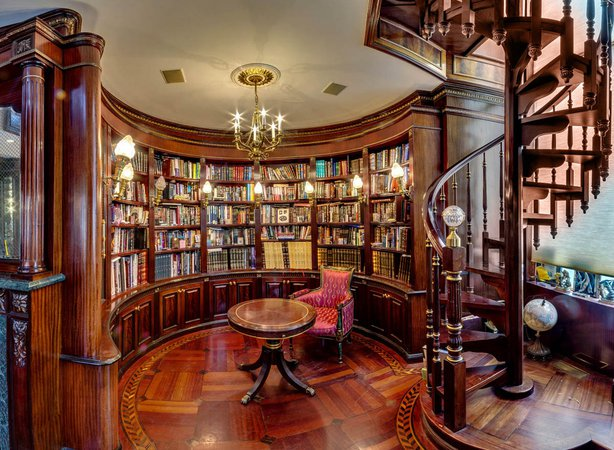 Private Library Design Ideas Classic Library » Design and Ideas Design and Ideas Private Library Style Classic White Library