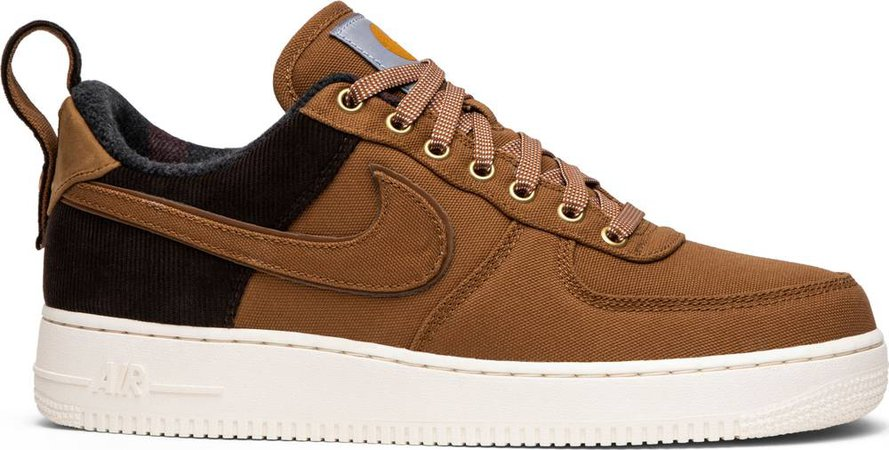 Carhartt WIP x Air Force 1 07 Premium 'Ale Brown' - Nike - AV4113 200 | GOAT