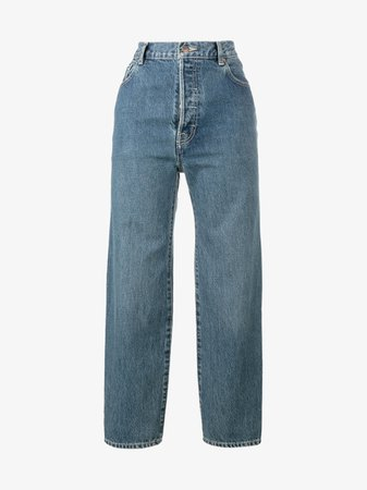 Vetements X Levi's High Waisted Jeans