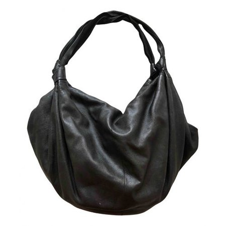 Ascot leather handbag The Row Black in Leather - 15278777
