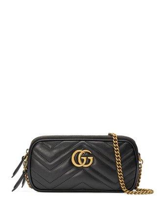 Gucci Gg Marmont Mini Chain Bag | Farfetch.com