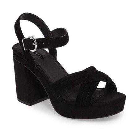 Women's Topshop Ankle Strap Platform Sandal