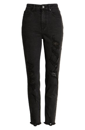 Tinsel Distressed Skinny Jeans (Remy)