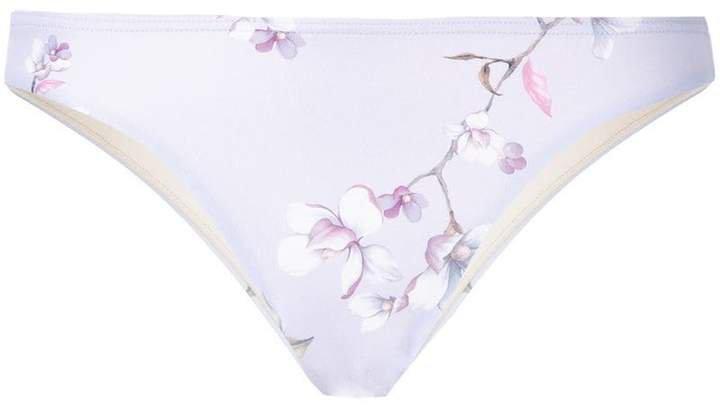 Peony Blossom staple bikini bottoms