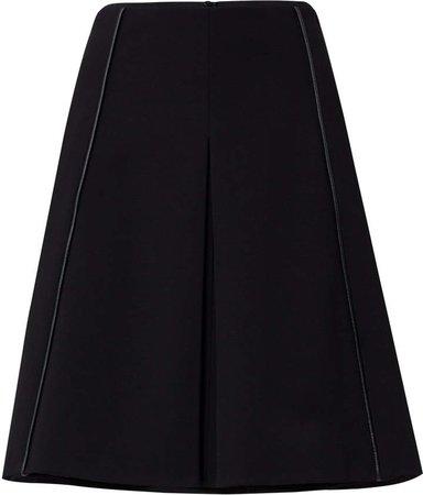 Dorothee Emotional Essence Pleated Crepe Skirt