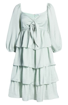 English Factory Tiered Minidress | Nordstrom
