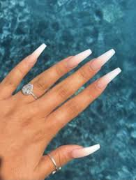 acrylic nails coffin long - Google Search