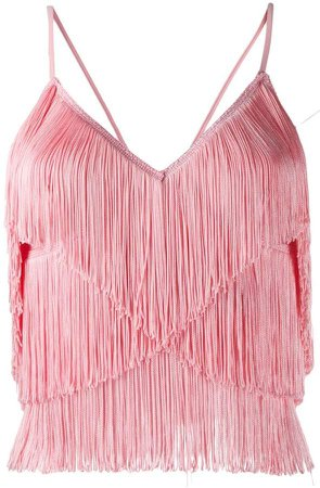 fringed cami top