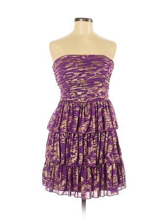 City Studio Animal Print Purple Cocktail Dress Size 11 - 73% off | thredUP