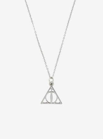 Harry Potter Deathly Hallows Dainty Necklace