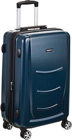 Hard Shell Suitcase - Navy Blue