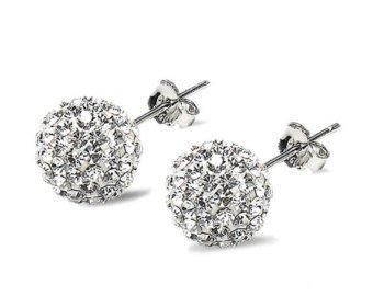silver earings for women