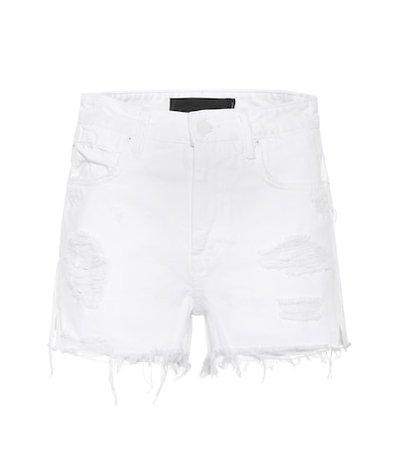 Bite denim cut-off shorts