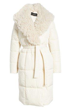VERO MODA Cozy Long Quilted Jacket | Nordstrom