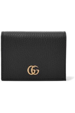 Gucci   Marmont Petite textured-leather wallet   NET-A-PORTER.COM