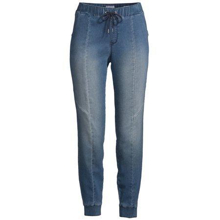 Sofia Jeans by Sofia Vergara - Sofia Jeans Paula Soft Stretch Knit Denim Jogger Women's - Walmart.com blue