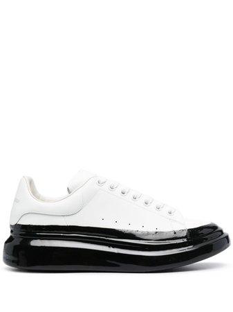 Alexander McQueen Oversized two-tone Sneakers - Farfetch