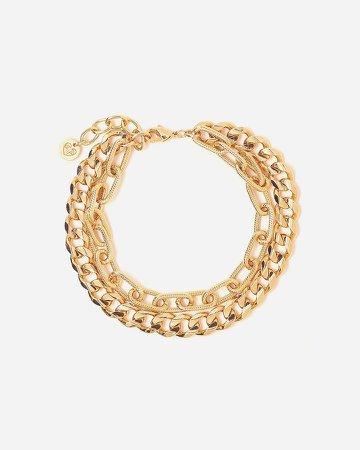 Tess + Tricia Gold Quinn Double Bracelet