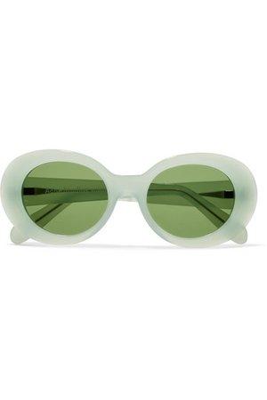 Acne Studios | Mustang round-frame acetate sunglasses | NET-A-PORTER.COM