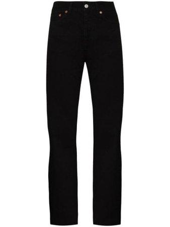 Straight Jean Women's Designer Straight Leg Jeans 2018 - Farfetch